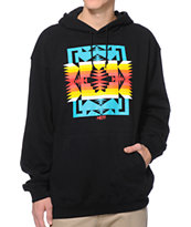 Neff Paso 2 Black Pullover Hoodie