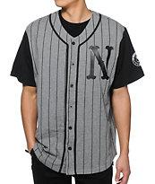 Neff Pinstripe Baseball Jersey