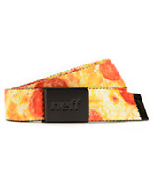 Neff Pizza Web Belt