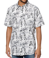 Neff Retro Hula Button Up Shirt