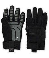 Neff Rover Black & Grey Pipe Snowboard Gloves 2013