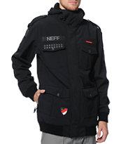 Neff Sarge 2 Black 10K Softshell Snowboard Jacket