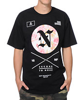 Neff Second To None Black Tee Shirt