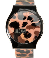 Neff Slim Cheetah Digital Watch