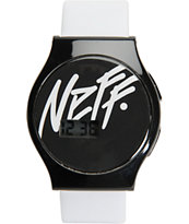 Neff Slim White Digital Watch