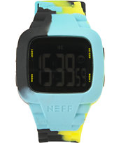 Neff Steve Tennis Camo Digital Watch