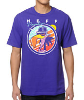 Neff Sunbird Purple Tee Shirt