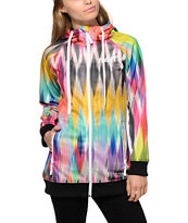 Neff Super Shredder Diamond Prism Tech Fleece Jacket