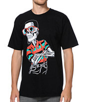 Neff Suspendies Black Tee Shirt