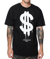 Neff The World Black Tee Shirt