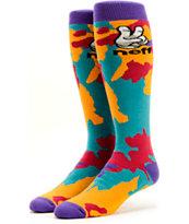 Neff Tie Dye Peace Snowboard Socks