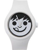Neff Timely White Analog Watch