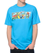 Neff Toucan Jungle Turquoise Tee Shirt
