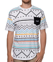Neff Tribe White Pocket Tee Shirt