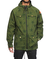 Neff Trooper Green Jacket