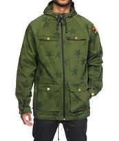Neff Trooper Green Jacket
