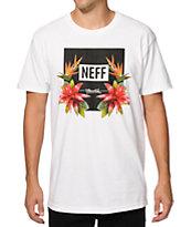 Neff Tropic Floral Logo T-Shirt