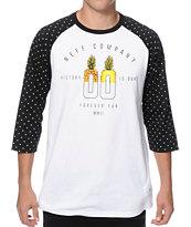 Neff Volt Dots Baseball T-Shirt