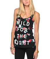Neff Wild For The Night Floral Tank Top