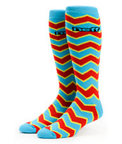 Neff Zag Primary Color Snowboard Socks