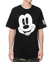 Neff x Disney Mickey Face Black Tee Shirt