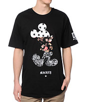 Neff x Disney Mickey Swag Black Tee Shirt