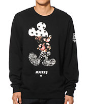 Neff x Disney Mickey Swag Crew Neck Sweatshirt