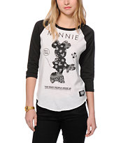 Neff x Disney Minnie Bandana Rag Baseball T-Shirt