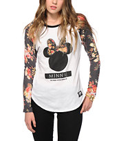 Neff x Disney Minnie Floral Baseball Tee