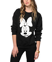 Neff x Disney Minnie Team Player Crew Neck Sweatshirt