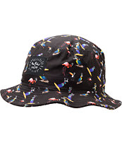 Neff x Mac Miller Bird Black Bucket Hat