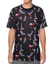 Neff x Mac Miller Bird King Sublimated Black Tee Shirt