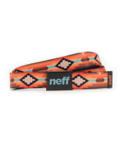 Neff x Mac Miller Collaboration Orange Tribal Print Belt