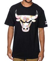 Neff x NBA Bulls Floral Print T-Shirt