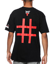 Neff x NBA Bulls Number Tee Shirt