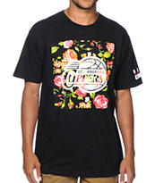 Neff x NBA Clippers Floral Tee Shirt