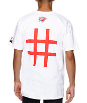Neff x NBA Thunder Number Tee Shirt