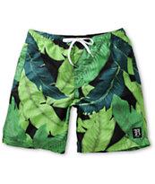 Neff x Taylor Gang Leaf Camo Board Shorts