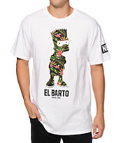 Neff x The Simpsons Floral Barto T-Shirt