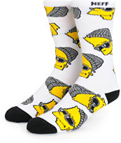 Neff x The Simpsons Steezy Bart Crew Socks