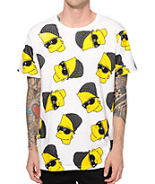 Neff x The Simpsons Steezy Bart Drop Tail T-Shirt
