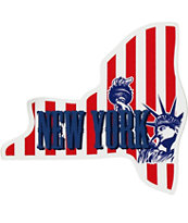 New York Theme Sticker