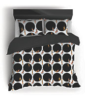Night Shift X Playboy Rabbit Hole Queen Comforter Set