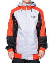 Nike Century Grey, Red & Black 5k Snowboarding Jacket