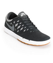 Nike Free SB Black, Dark Grey & White Shoes