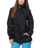 Nike Lustre Black 5K Girls Snowboard Jacket 2014