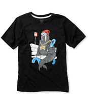 Nike SB Boys Walrus Black T-Shirt