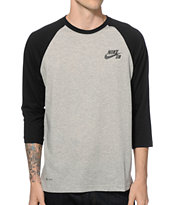 Nike SB Dri-Fit Crew Baseball T-Shirt