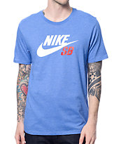 Nike SB Dri-Fit Icon Reflective Blue T-Shirt