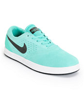 Nike SB Eric Koston 2 Lunarlon Crystal Mint & Black Skate Shoe